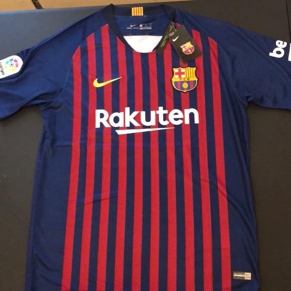 on sale 1a8ae e65f4 FC Barcelona Messi 2018 Soccer Jersey NWT